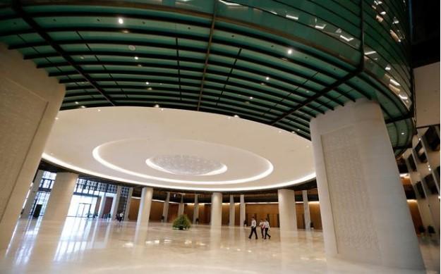 Kiến trúc độc đáo bên trong tòa nhà Quốc hội