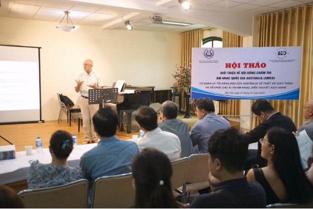 Hội thảo giới thiệu về Hội đồng chấm thi Âm nhạc Quốc Tế (AMEB)