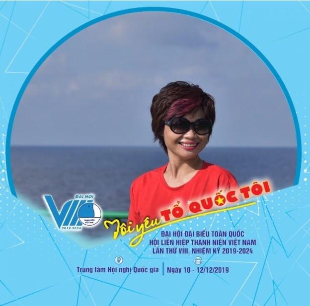 Chị Nguyễn Hoàng Yến - Trưởng đại diện Tạp chí Thời trang trẻ