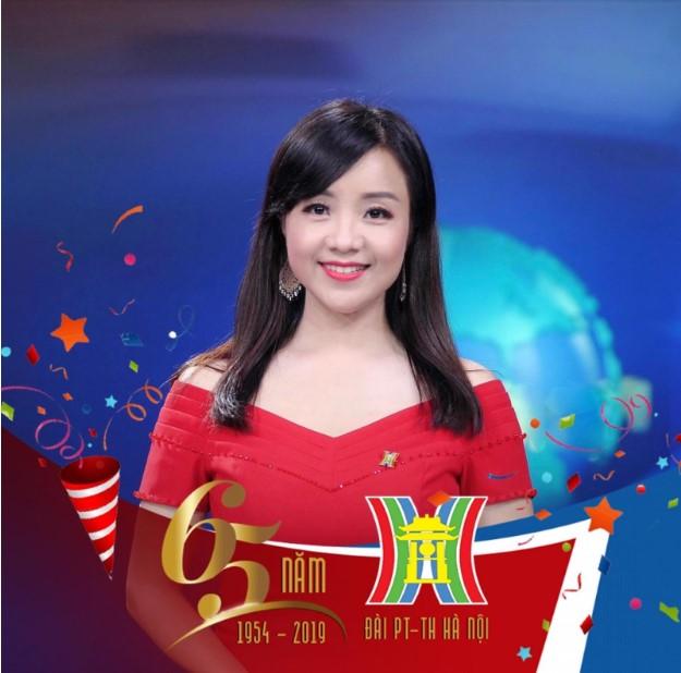 MC Lan Hương - Đài truyền hình Hà Nội