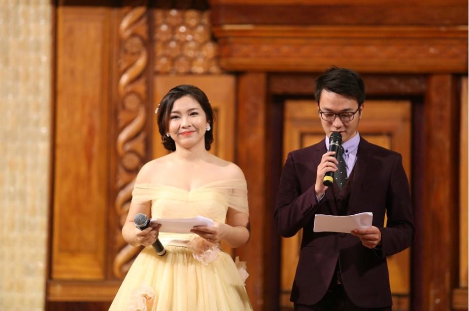 Chương trình với sự dẫn dắt của 2 MC Quang Đạo và Hồng Ngọc