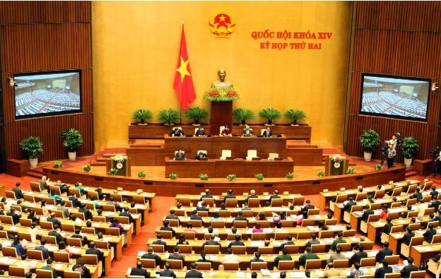 Phòng họp Diên Hồng – nơi diễn ra các kỳ họp Quốc hội