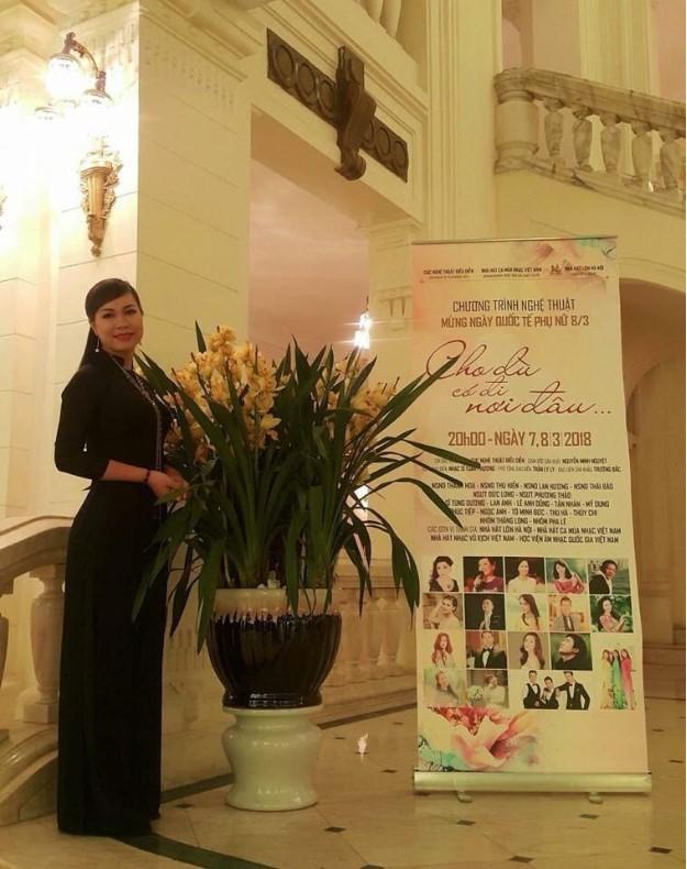 Nghệ sĩ ưu tú Vân Mai – Giảng viên trường ĐH Văn hóa Nghệ thuật Quân Đội